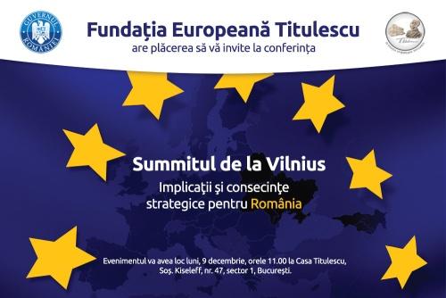 Invitatie Conferinta Post Vilnius, FET,  9 dec., 11.00